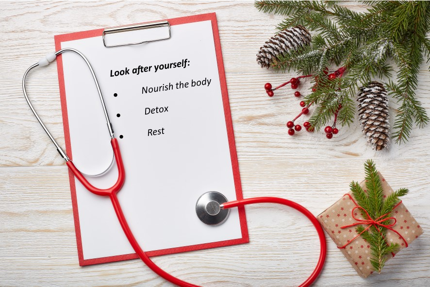 A checklist of staying healthy over the christmas period